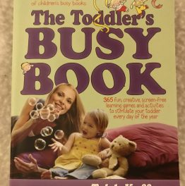 Review – The Toddler's Busy Book – Part 1