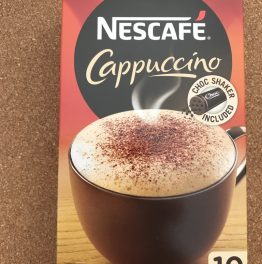 Review: Black Box – Nescafe Cappuccino